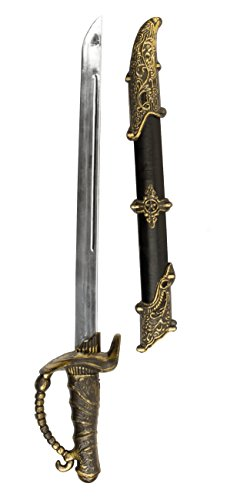 Boland 00659 - Espada Pirata con Vaina (Aprox. 52 cm)