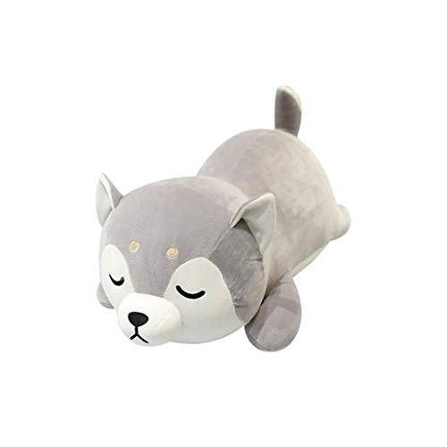 SMEJS Auspicioso Comienzo de Shiba Inu Felpa Throw Pillow Corgi Lindo de Akita del Animal Relleno Felpa Suave Peluche de Juguete muñeca de Kawaii Perro