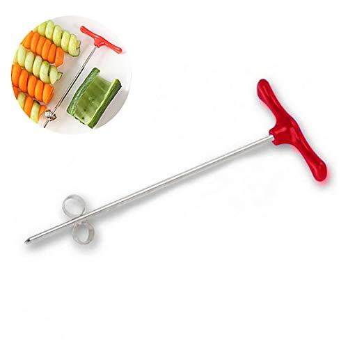 ouken 1PC Kartoffel Spiral Slicer Drum Spiral Slicer Schneidemaschine effizient und schnell, Gemüse, Obst Cutter Obst Schnitzwerkzeuge
