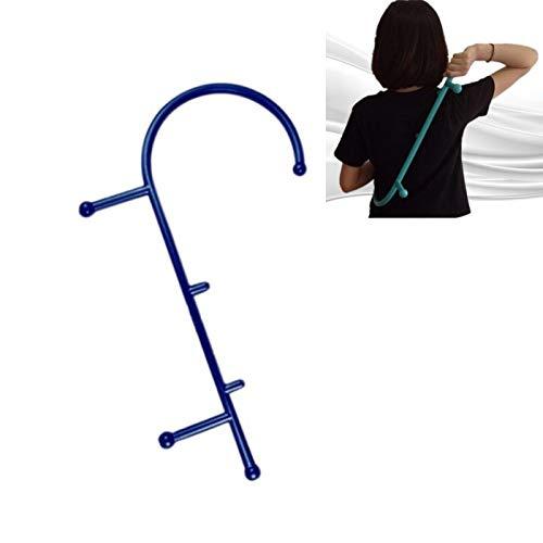 SHUF Terug Haak Massager Neck Self Muscle Pressure Stick Gereedschap Manuel Trigger Point Massage Rod (Groen)