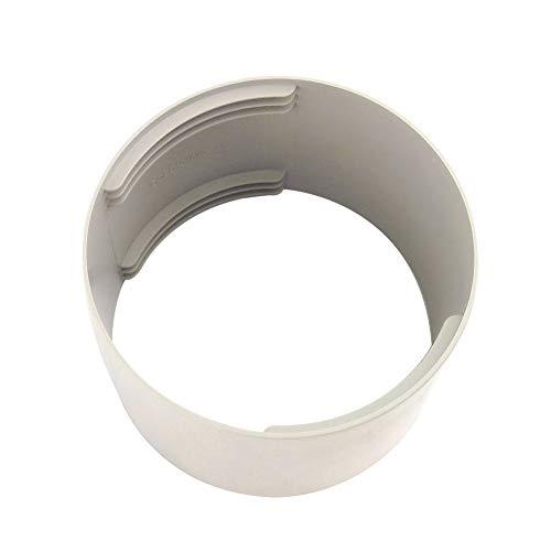 Avalita Adaptador de tubo de tubo de tubo de escape para aire acondicionado portátil, fácil de usar (150 mm)