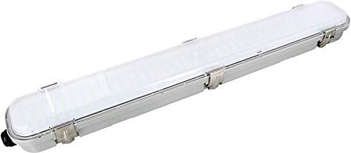LED plafondlamp IP65 met 5,8 GHz HF-bewegingsmelder 360 ° - 18 W 1350 lm 600 mm - daglicht wit (4000 K)