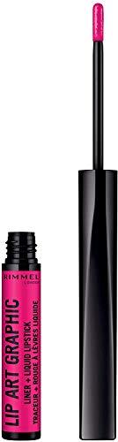 Rimmel London Vloeibare lippenstift, per stuk verpakt (1 x 1,8 milliliter)