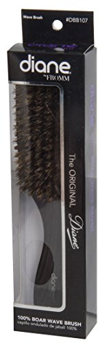 Diane Original 9'' Wave Brush DBB107, All purpose, professional use, personal use, salon, barber, stylist, men and women, for all hair types, long and short hair, detangles your hair, detangler