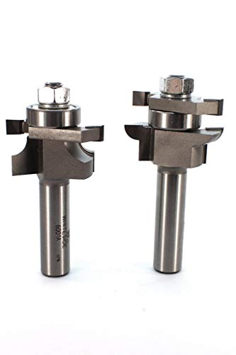 1 inch Cutting Length Rail and Round Stile Router Bit