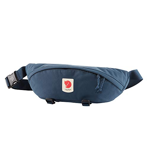Fjallraven, Ulvo Hip Pack Large, Waterproof Fanny Pack for Everyday Use and Travel, Mountain Blue
