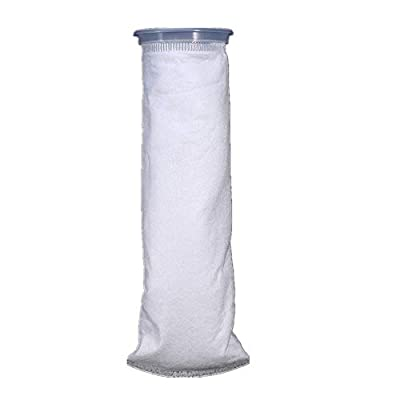 Filter bags, Yosoo filter bag 105 x 380 mm, filter filtration bags, polypropylene for marine aquarium