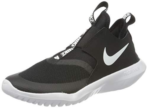 Nike Kids' Grade School Flex Runner Running Shoes (6, Black/White)