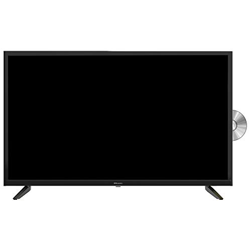 """EMtronics 32"""" Inch HD Ready 720p LED TV with Built-in DVD Player and Freeview HD"""