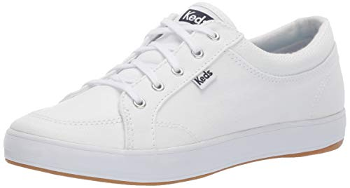 Keds Women's Center Sneaker, White, 9.5