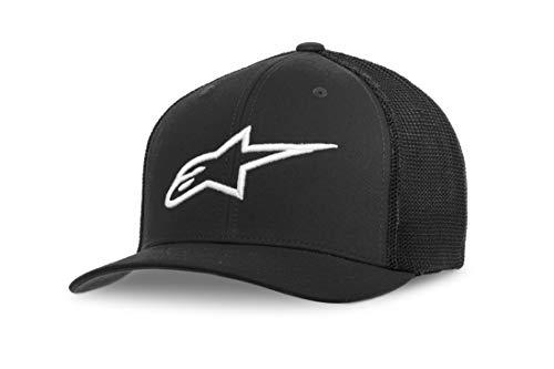 Alpinestars Herren Ageless Stretch mesh Hat, Black/White, L
