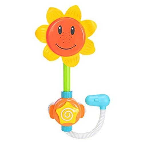 ANLEVO Sandspielzeug Sonnenblumen Dusche Wasser Spritzen Spaß Interaktive Badewanne Kleinkind Spielzeug