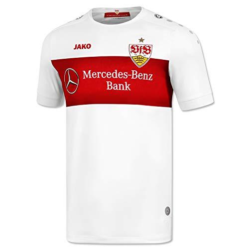 JAKO VfB Stuttgart Trikot Home 19/20 (XL, weiß/rot)
