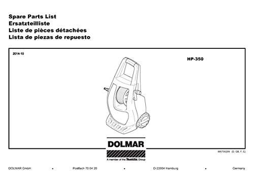Dolmar 609640761-8706 Rad, Original Ersatzteil HP-350