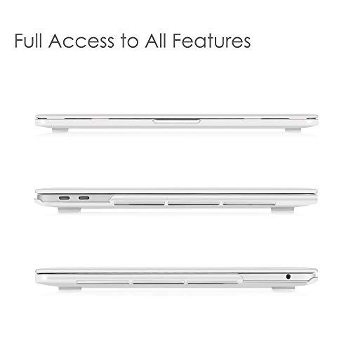 Fintie Hülle für 2020-2016 MacBook Pro 13 A2338 M1 A2289 A2251 A2159 A1989 A1706 A1708 - Ultradünne Glatt Hartschale Schutzhülle für MacBook PRO 13
