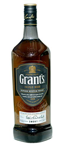 Grants triple Wood -SMOKY- blended Scotch Whisky, 1,0 L