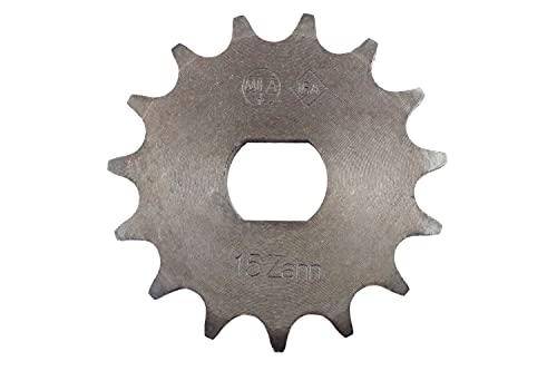 Antriebskettenrad, Ritzel aus hochwertigem Stahl, 15 Zahn für Simson S51 S53 S70 SR50 SR80 KR51/2