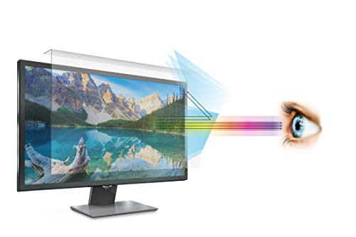 "Anti Blue Light Screen filter for 27 Inches Widescreen Desktop Monitor (Does NOT fit 27"" iMac), Blocks Excessive Harmful Blue Light, Reduce Eye Fatigue and Eye Strain"