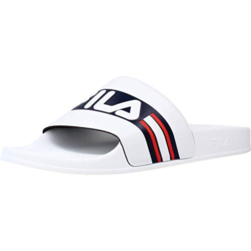 FILA Herren Oceano Men Slipper, White Navy, 42 EU