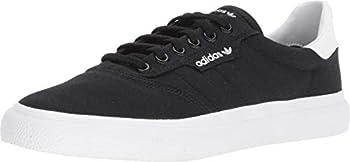 adidas Originals Men s 3MC Regular Fit Lifestyle Skate Inspired Sneakers Shoes black/black/white 9.5 M US
