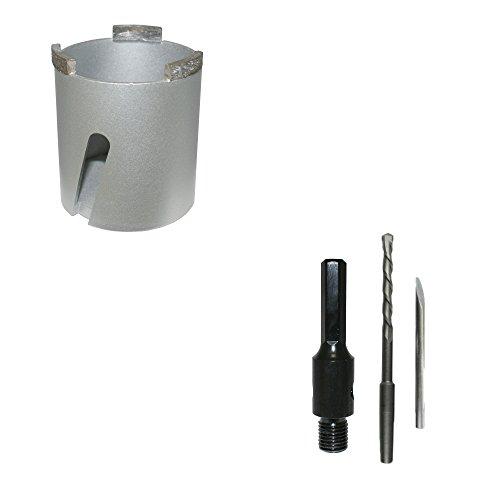Diamant-blikverzinkboor universeel Ø 68 mm + zeskanthouder incl. boor dozenverzinkboor boorkroon dozenboor stekkerdoos - Bodi Tools