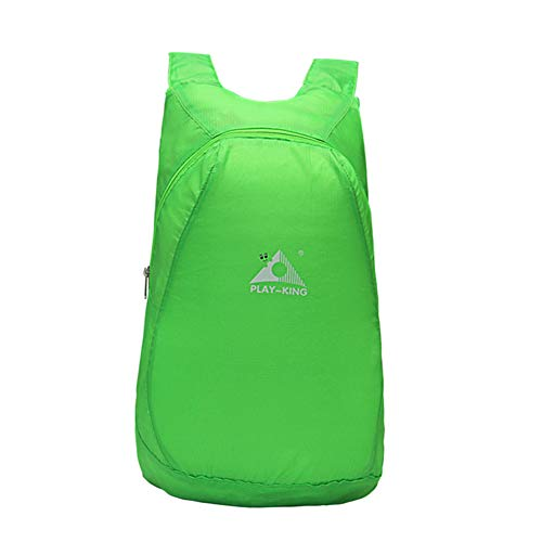 Buhui Waterproof Foldable Sports Backpack, Portable Lightweight Large Capacity Bag for Outdoor Sports, 20-35L