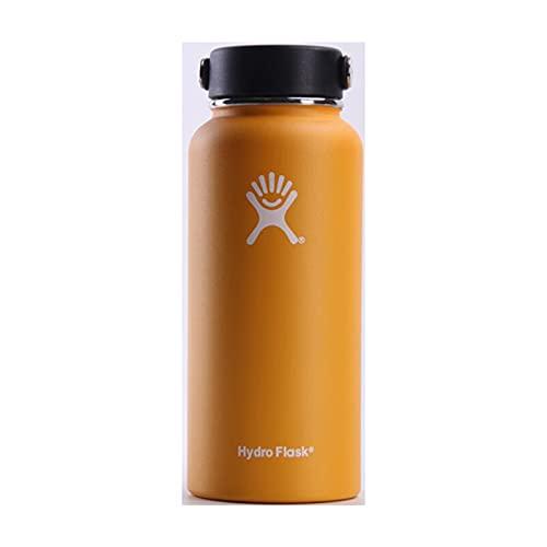 UKKD Water bottle Thermos Bottle 18 Oz / 32 Oz / 40 Oz Vacuum Bottle Thermos Stainless Steel Kettle Wide-18Oz,Az101