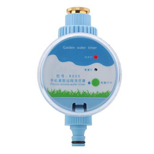 Haofy Temporizador de Agua inalámbrico, Temporizador de riego, Control Remoto WiFi, Grifo de Manguera,...