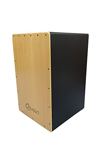 Qbano 7M44M - Cajón flamenco, color madera