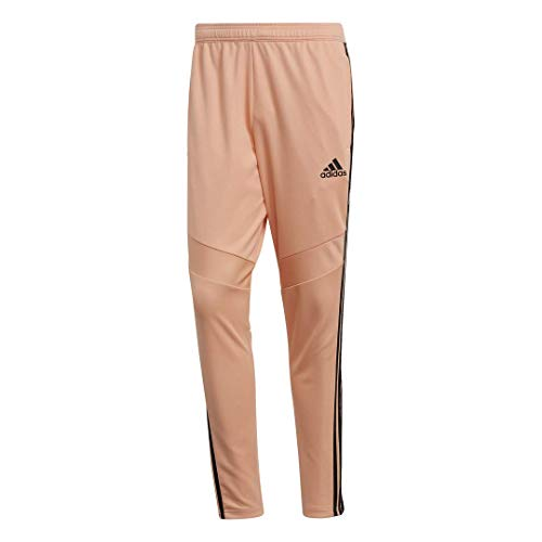 adidas Men's Tiro 19 Training Soccer Pants, Tiro '19 Pants, Glow Pink/Black, X-Small