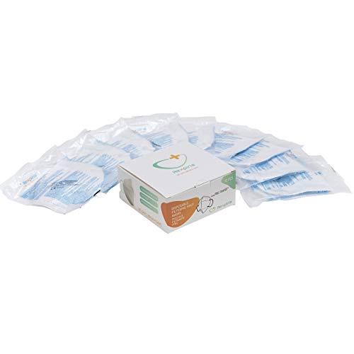 REXPIRIA Pack 10 máscaras FFP2 modelo GS001, Máscara semifacial, Máscara de filtro, Máscara ffp2 empaquetada individualmente, Certificación CE 2163, Protección 94%