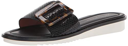 Donald J Pliner Women's Slide Sandal, Black, 10