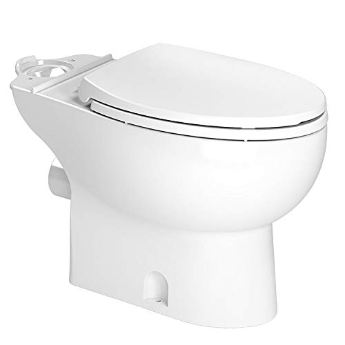 Saniflo 087 Toilet Bowl Elongated White