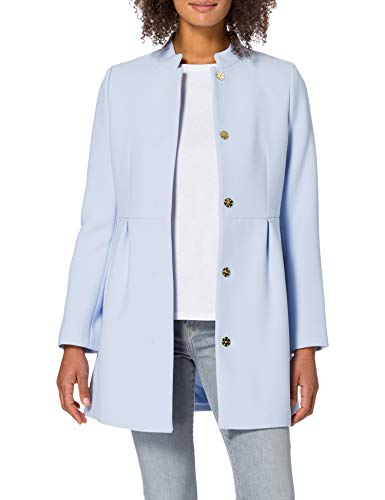 ESPRIT Collection Damen 021EO1G302 Jacke, 435/PASTEL Blue, S