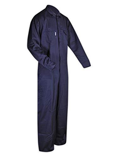 Magid Dual-Hazard 7 oz. FR 100% Cotton Coveralls (1 Coverall), XL, NAVY