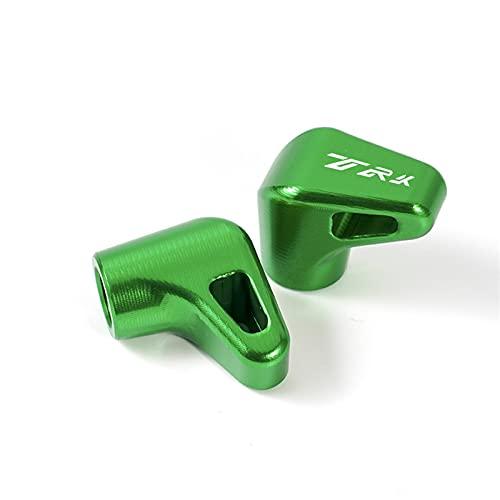 Tapones válvula Motocicleta CNC Rueda válvula de neumático Puerto de Aire Tapas de vástago Accesorios para TRK 502 502X 251 BJ500 LEONCINO 500 (Color : Green)
