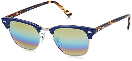 Ray-Ban RB3016-8053672732108 RB3016-8053672732108 Wayfarer Sonnenbrille 49, Blue