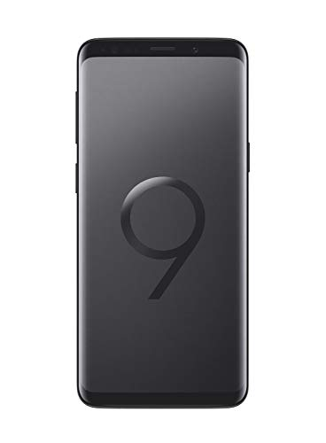 Samsung Galaxy S9 Smartphone (5,8 Zoll Touch-Display, 64GB interner Speicher, Android, Dual SIM) Midnight Black – Französische Version