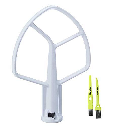 Italdos Batidor plano K5AB compatible con KitchenAid KPM5 5K5SS K5AB KG25 KH25...