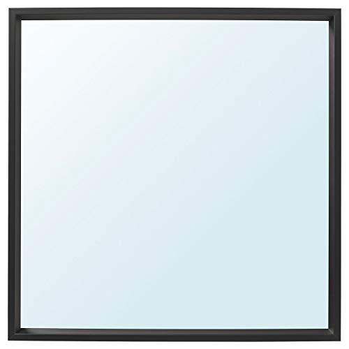 Espejo NISSEDAL 65x65 cm negro