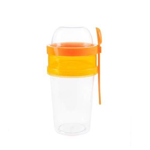 BEFA - Vaso de cereales para llevar   plástico saludable sin BPA...
