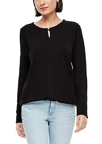 s.Oliver Damen 120.10.009.12.130.2055106 T-Shirt, Black, 36