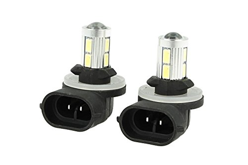 CARALL LS8810 - Lámpara LED H27 881 PGJ13 12 V 10 W No Polaridad Super Blanco 6000 K