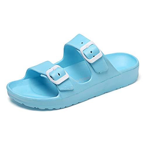Antislip zwembad badkamer schoenen,Damesslippers met zachte zolen en antislip schoenen-blue_41,Op Muiltjes Douche Sandalen Schoenen