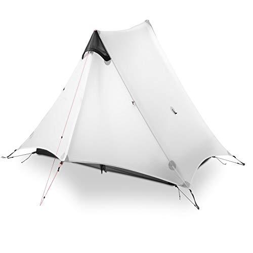 DRGRG Hiking Backpacking Tent 1 Person 2 Person Tent Outdoor Ultralight Camping 15D 3 Season Tent Winter 4 Season Tent 3 Season E