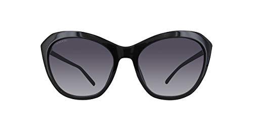 Swarovski Sonnenbrille SK0143-01B-56 Schmetterling Sonnenbrille 56, Schwarz