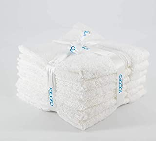 Set of 6 Pieces (30x30 cm) Home Bathroom Wash, Hand, Face 100% Cotton Towel Set   Luxury and Think Towels   Up to 600 GSM...