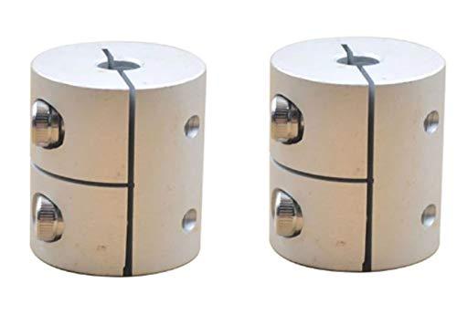 2 x Klemmkupplung Kupplung Wellenkupplung aus ALuminium je nach wahl (6.35mm x 8mm)