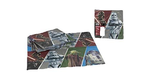 ColorBaby, 71907, Pack 20 servilletas Star Wars, 33x33 cms.