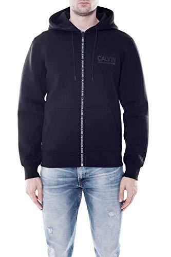 Calvin Klein Neoprene Calvin Chest Logo Zipup Pantalones, CK Negro, XL para...